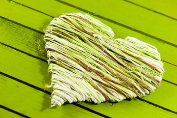 Green heart - Grünes Herz