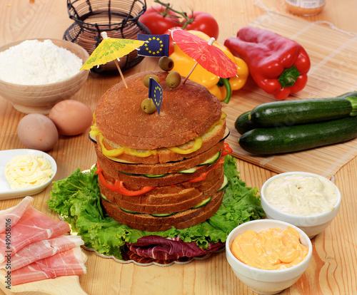 Panettone salato - Salty panettone