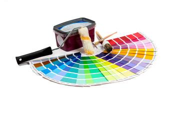 Farbutensilien