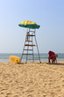 Life Guard on Patnem Beach South Goa