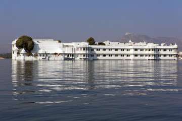 Taj Lake Palace in Udaipur, Rajasthan.