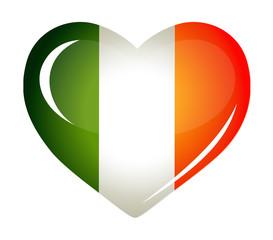 Ireland flag as Heart icon