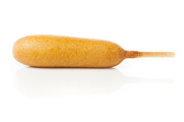 Organic CornDog on a stick