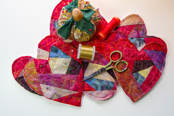 Fabric Valentines