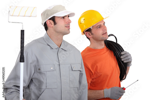 Electrician and decorator