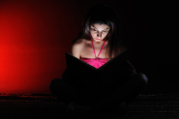 Light of book - seriously reading