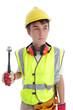 Apprentice builder construction worker
