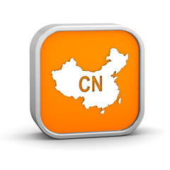 International country code sign - China
