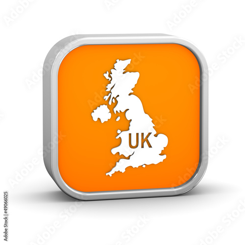 International country code sign - United Kingdom