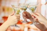Corporate party martini glasses - Fine Art prints
