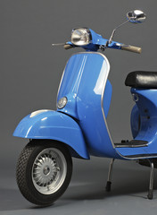Classic italian scooter
