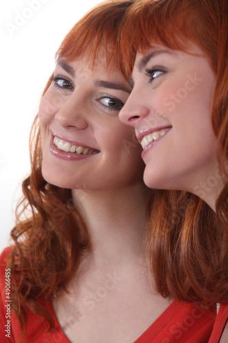 Beaming young woman