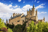 The famous Alcazar of Segovia, Castilla y Leon, Spain