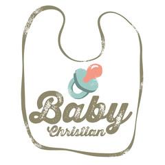 Vintage Christian design – Baby