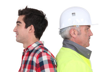 Older workers and young workers