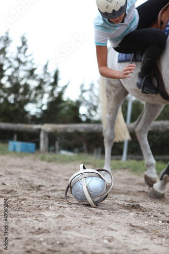 Playing horseball