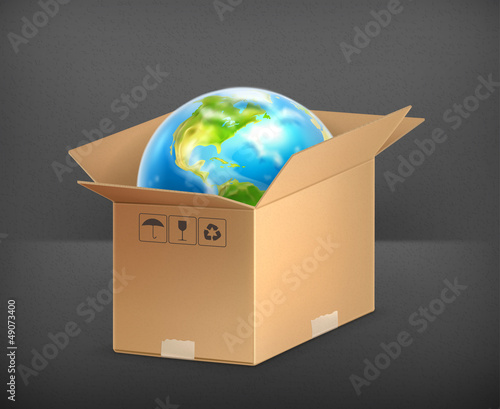 World in box