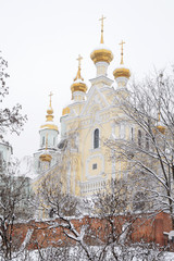 Orthodox monastery in Kharkov Ukraine
