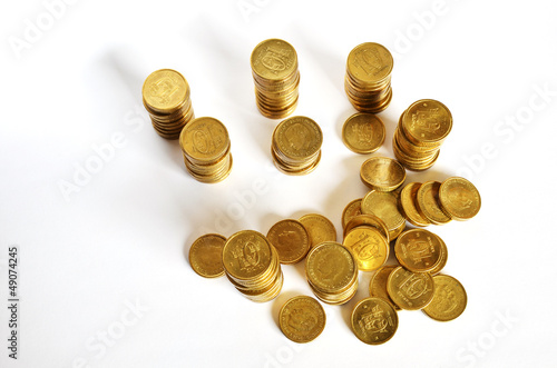 Golden coin savings