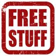 Grunge Stempelrot FREE STUFF