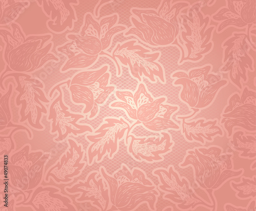 Decorative pink pattern