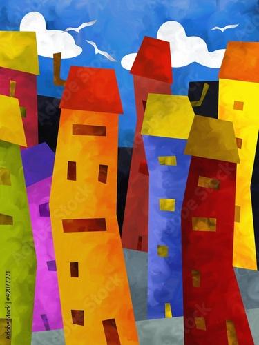 palazzine colorate