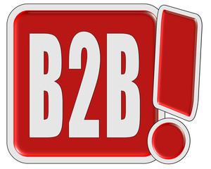 !-Schild rot quad B2B