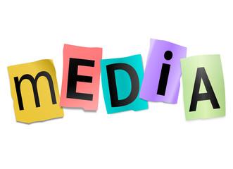 Media concept.