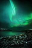 Fototapeta góry - Aurora - Noc