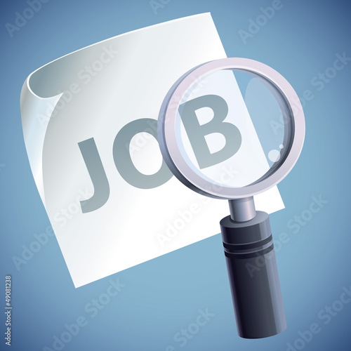 Vector concept  - job searching