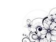 Fototapete Mustern - Entwerfen - Blume