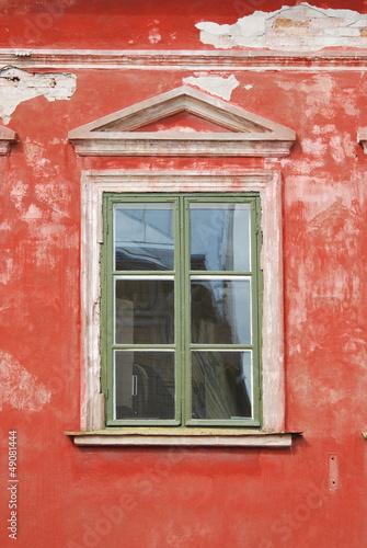 Ramshackle Home Window