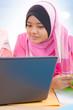 Muslim college girls