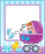 Baby theme frame 4