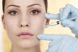 Falten wegspritzen, Hyaluronsäure, Botox poster