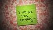 Sticky notes - Valentine.