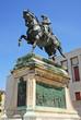 Victor Emmanuel II king of Italy bronze statue.