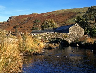 Bridge over stream, Watendlath, UK © Arena Photo UK