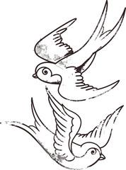 tatto style swallow