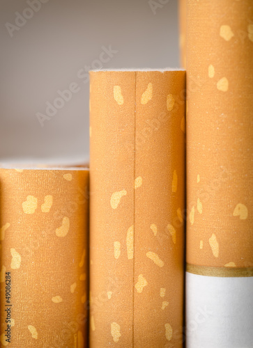 Brown filter cigarettes