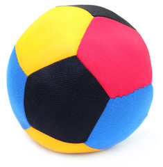 Ball made of colorful cloths