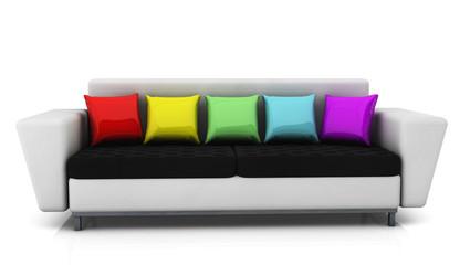 Sofa in 3d