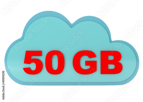 Offers 50 GB of Free Cloud Storage
