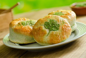 Shamrock Green Biscuits