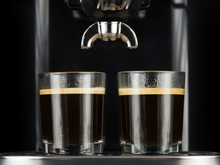 Two espressos