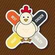 chicken label