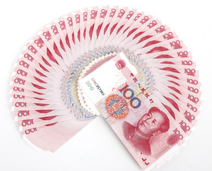 China's currency. Chinese banknotes