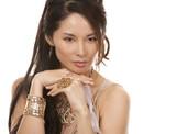 asian glamour woman