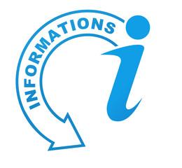 informations sur symbole bleu