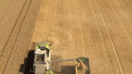 aerial harvesting